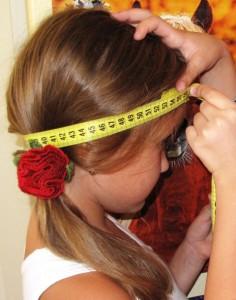 вязаная шапочка измерение головы