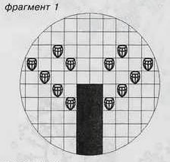 вязание крючком фрагмент 1