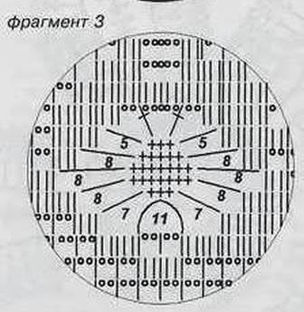 вязание крючком фрагмент 3