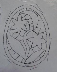 пасхальное яйцо. схема