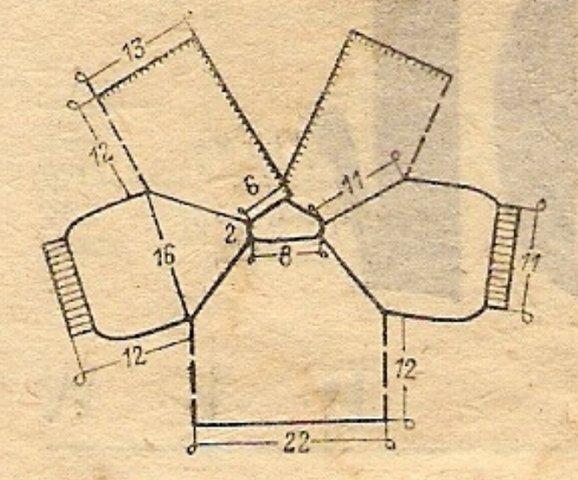 Модели и схема вязание кофточки 957
