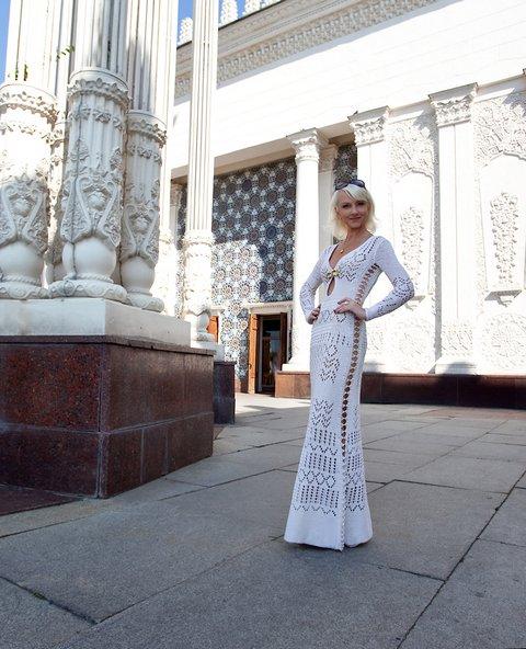 Вязаное платье от Tancha