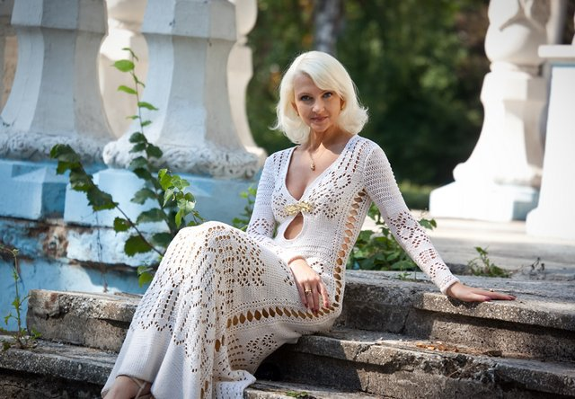 Вязаное платье от Эмилио Пуччи