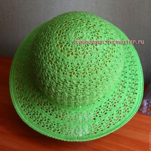 sombrero de ganchillo, clase magistral