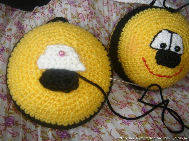 Пчелка своими руками фото