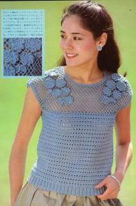 вязание крючком платьев фото схемы