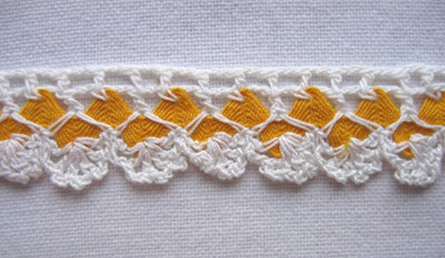 вязаное кружево