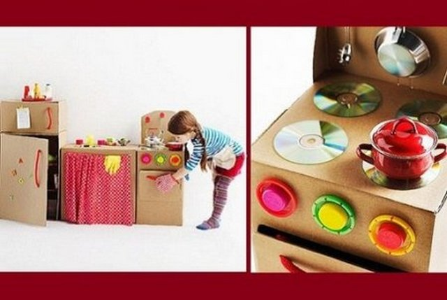 Игрушки для детей своими руками кухня