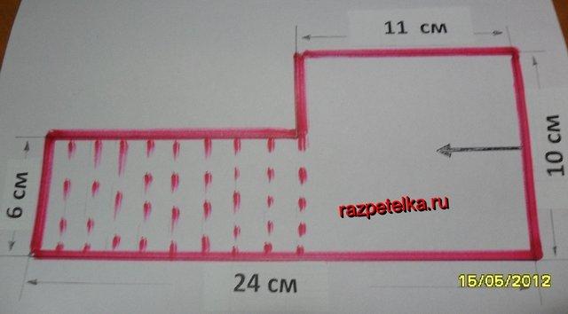 Схема пинеток зефирка