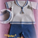 морской костюмчик для мальчика