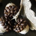 Поделки из кофейных зерен. Желуди. Мастер-класс