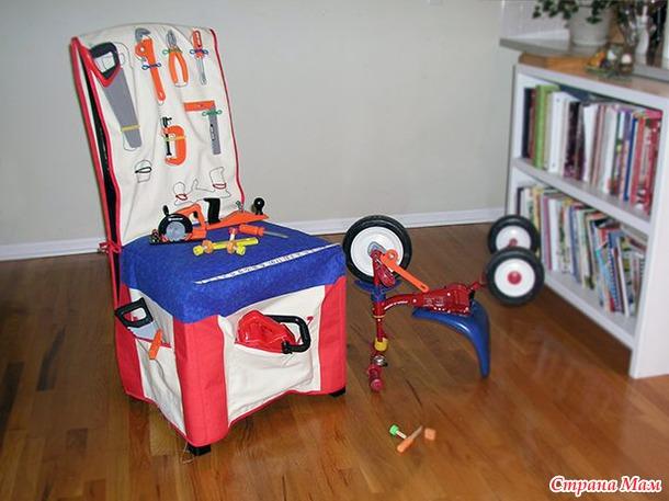 Чехлы игровые на стулья своими руками
