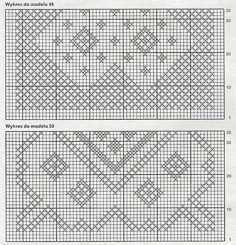 вязаные подушки схемы