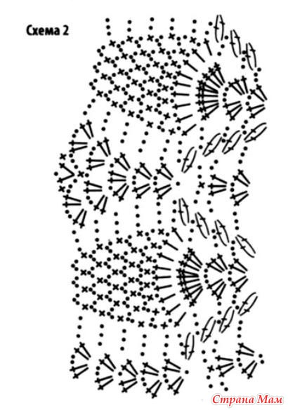 вязаный купальник схема