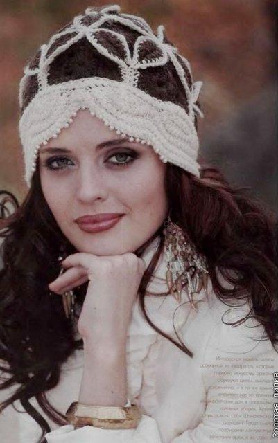 шапочек из Журнала Мод.