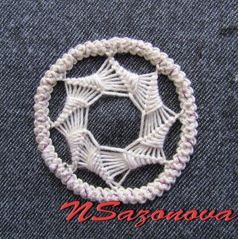 румынское кружево звездочка