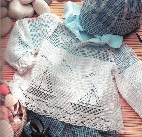 филейное вязание для детей