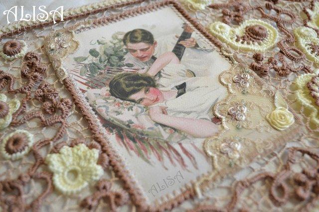 фото на ткани