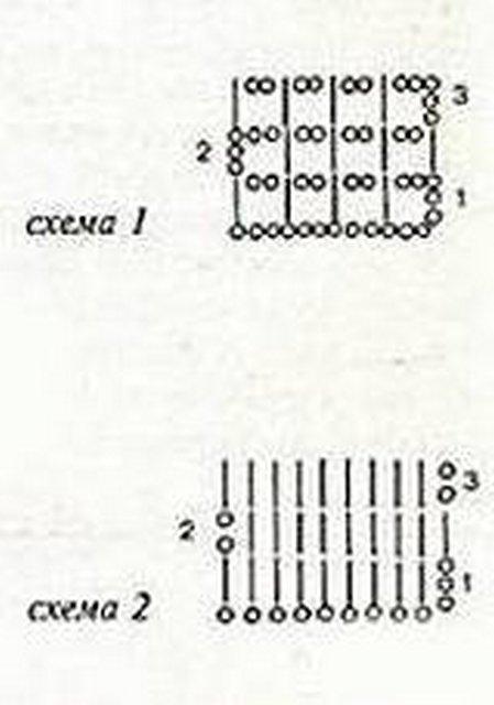 туника крючком схема