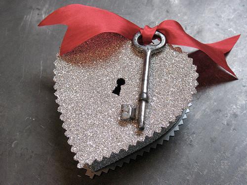 Упаковка подарка. День Святого Валентина. Оригинально