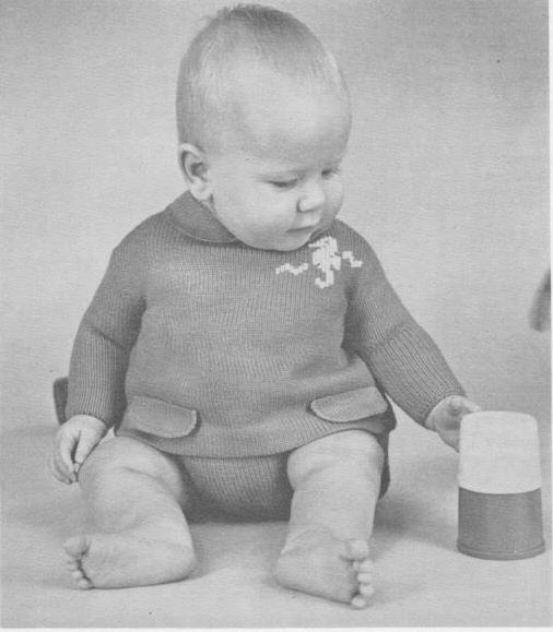 вязание для детей кофточки