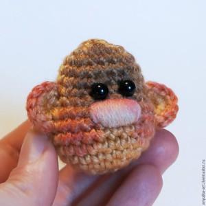 вязаная обезьянка мастер-класс