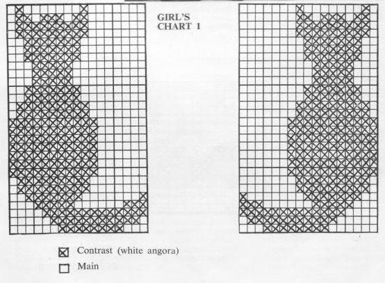 вязание для детей орнамент