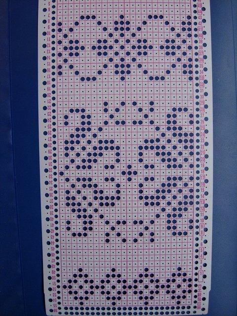 вязаный свитер жаккард