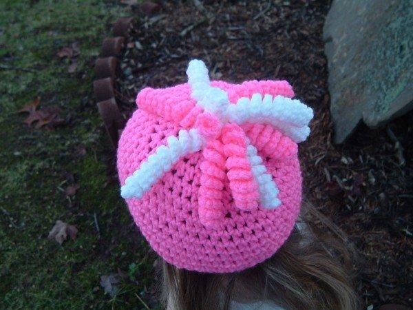 вязаная шапочка детская