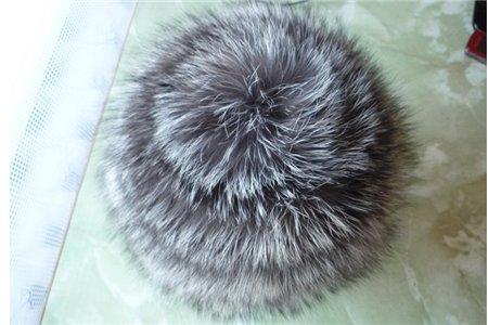 шапочка вязание с мехом