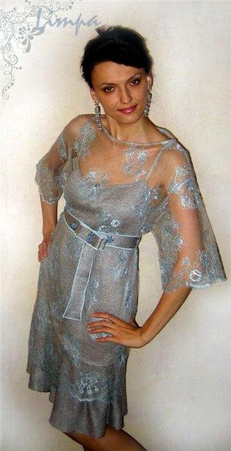 Limpa вязаное платье