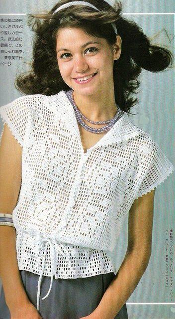 Блузка Кючком