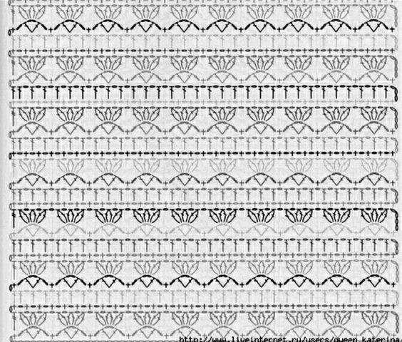 платье крючком схема - Маленькое черное вязаное платье и много много кофточек