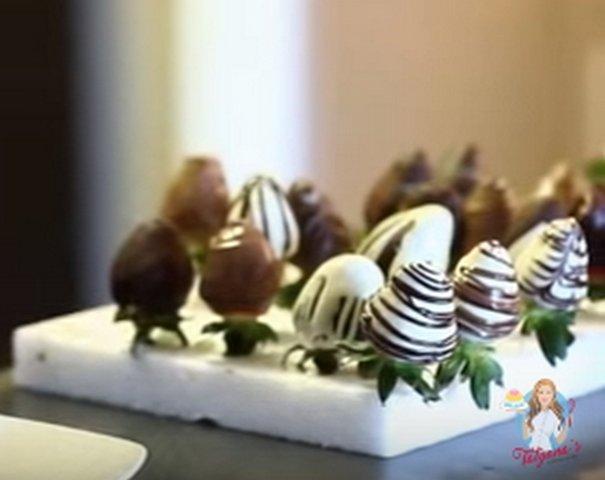 клубника в шоколаде как сушить