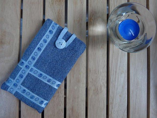 джинсовые чехлы для телефонов
