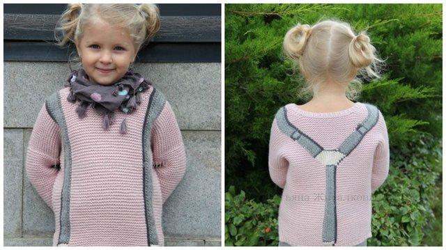 вязаный пуловер