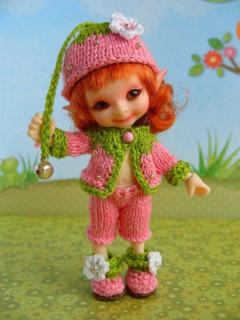 БЖД - Очень маленькие куклы БЖД и одёжда на них