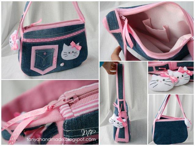 Сшить сумочку для девочки
