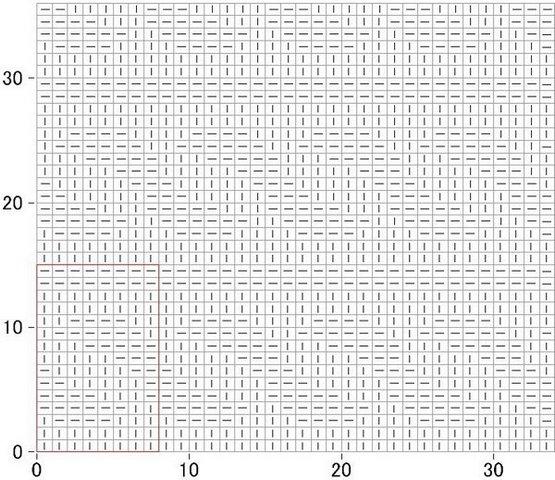 узоры спицами простые схема