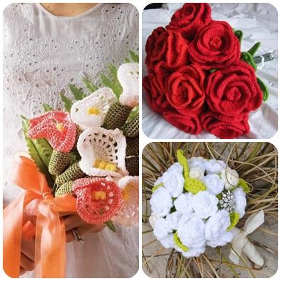 Красивые цветы крючком - с бусинами и бисером (4 мастер-класса)