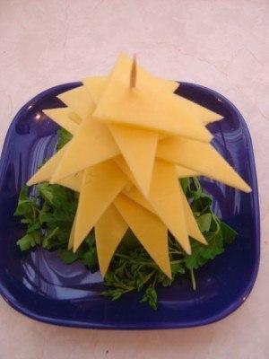 елка своими руками украшение блюд