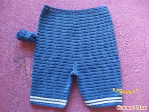 вязаный костюм для мальчика