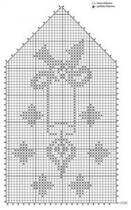 филейное вязание схема