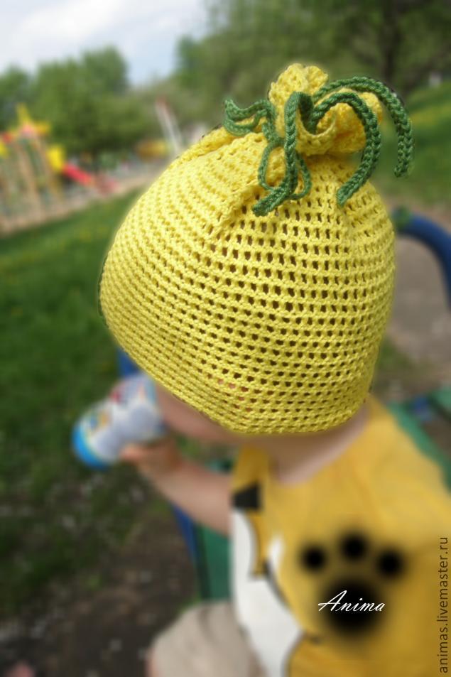 вязаная шапочка