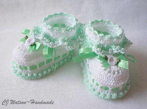 красивые пинетки для новорожденных идеи для вдохновения