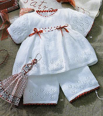 вязание для детей до года коллекция белое очарование Razpetelkaru