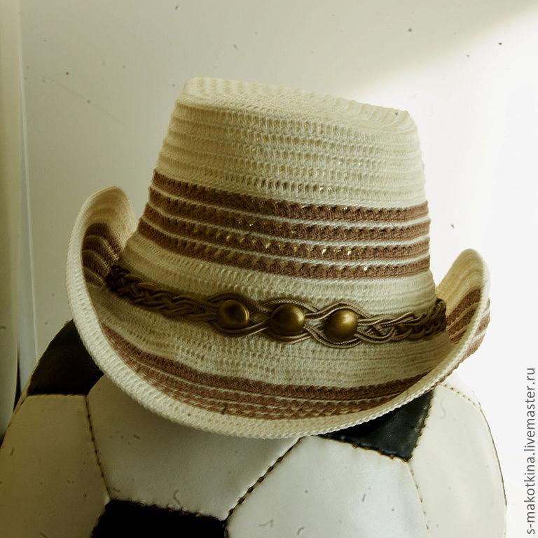 шляпа как у папы или вязаные шляпы для мальчиков Razpetelkaru
