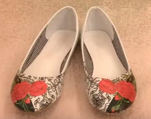 туфли своими руками
