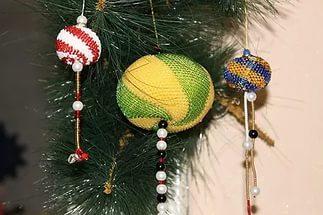 вязание с бисером